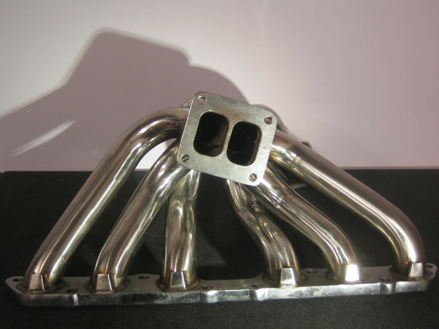 Turbomanifold - Toyota 2JZ-GE - T4 Twin